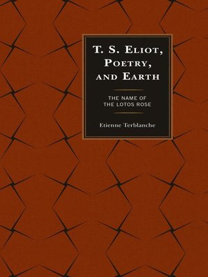 cover image of T.S. Eliot, Poetry, and Earth
