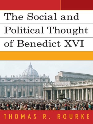 cover image of The Social and Political Thought of Benedict XVI