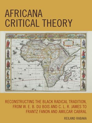 cover image of Africana Critical Theory