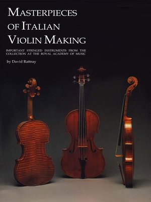 cover image of Masterpieces of Italian Violin Making (1620-1850)