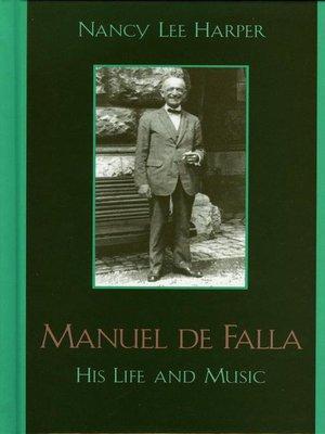 cover image of Manuel de Falla