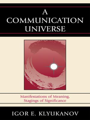 cover image of A Communication Universe