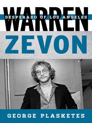 cover image of Warren Zevon