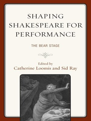 cover image of Shaping Shakespeare for Performance