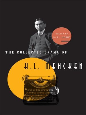cover image of The Collected Drama of H. L. Mencken