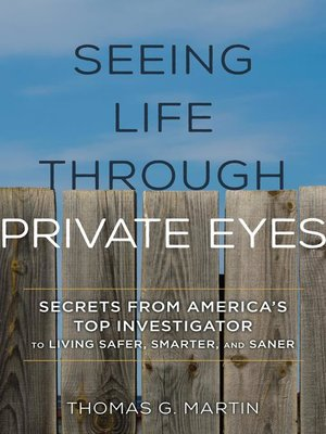 cover image of Seeing Life through Private Eyes