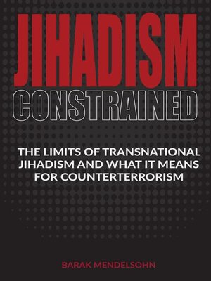 cover image of Jihadism Constrained