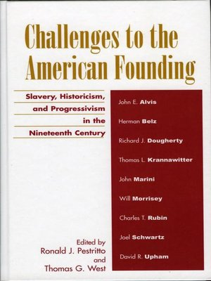 cover image of Challenges to the American Founding