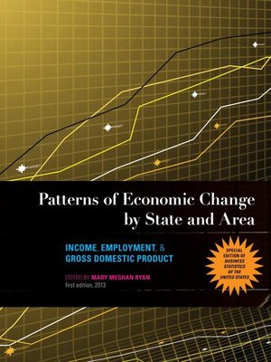 cover image of Patterns of Economic Change by State and Area