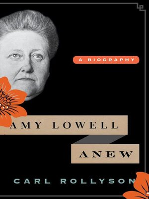 cover image of Amy Lowell Anew