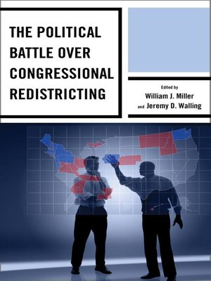 cover image of The Political Battle over Congressional Redistricting
