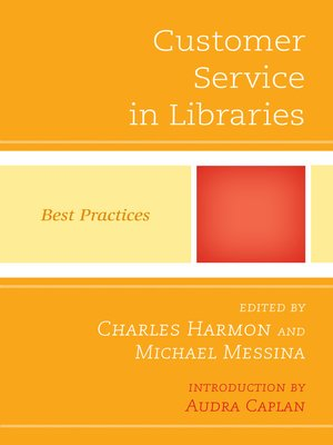 cover image of Customer Service in Libraries