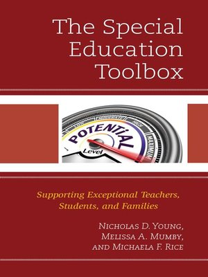 cover image of The Special Education Toolbox