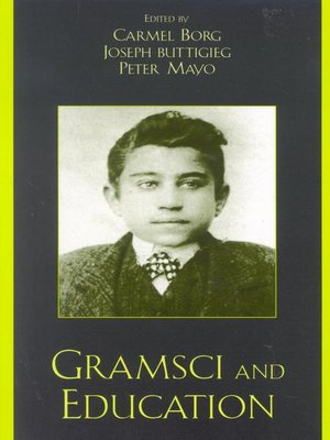 cover image of Gramsci and Education