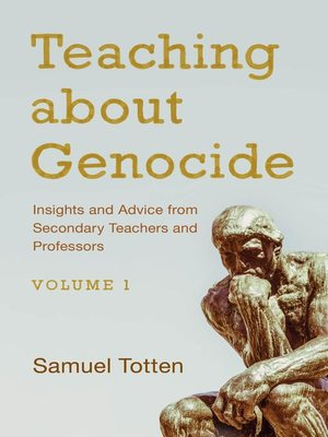 cover image of Teaching about Genocide