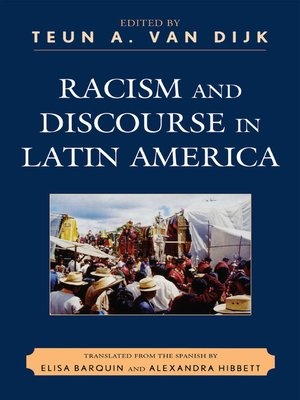 cover image of Racism and Discourse in Latin America