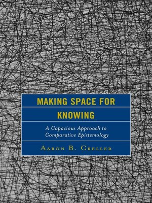 cover image of Making Space for Knowing