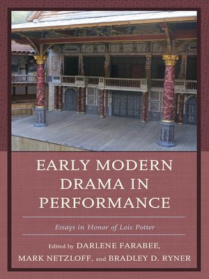 cover image of Early Modern Drama in Performance