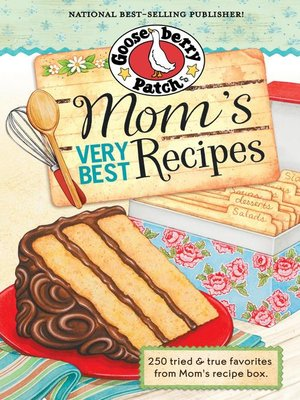 cover image of Mom's Very Best Recipes Cookbook