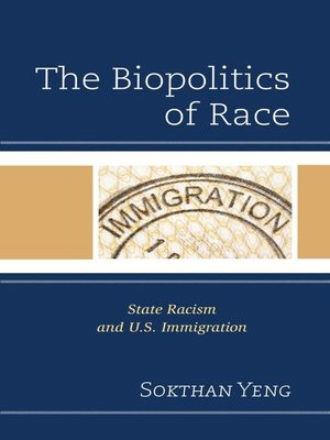 cover image of The Biopolitics of Race