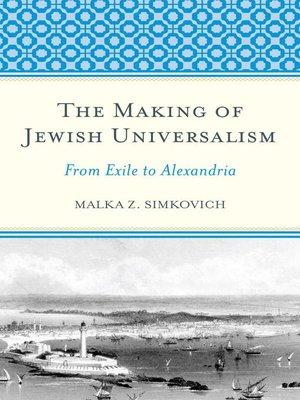 cover image of The Making of Jewish Universalism
