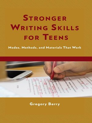 cover image of Stronger Writing Skills for Teens