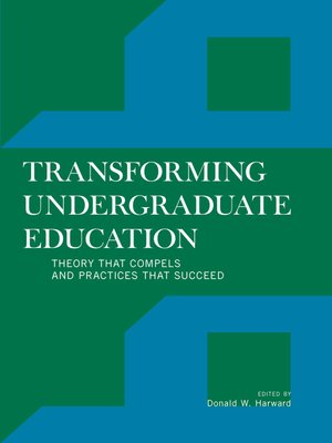cover image of Transforming Undergraduate Education