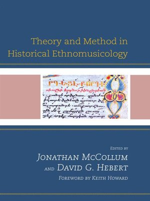 cover image of Theory and Method in Historical Ethnomusicology