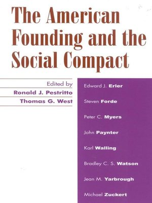 cover image of The American Founding and the Social Compact