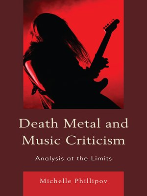 cover image of Death Metal and Music Criticism