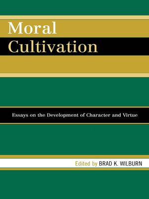 cover image of Moral Cultivation