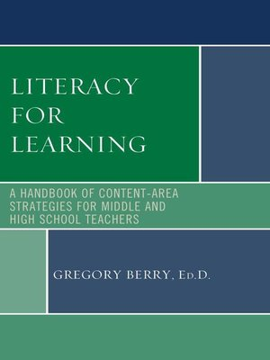 cover image of Literacy for Learning