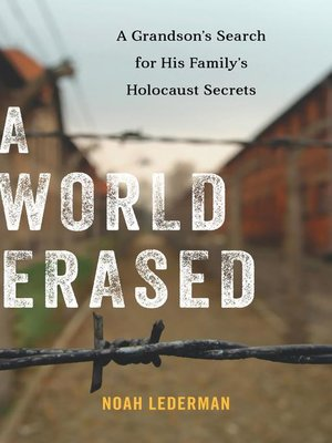 cover image of A World Erased