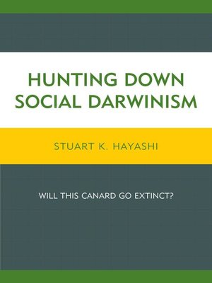 cover image of Hunting Down Social Darwinism