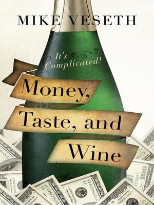 cover image of Money, Taste, and Wine