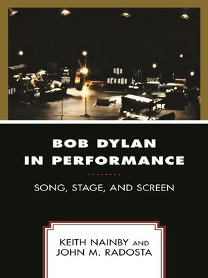 cover image of Bob Dylan in Performance