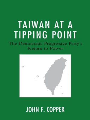 cover image of Taiwan at a Tipping Point