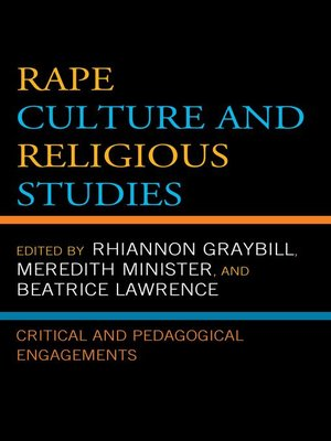 cover image of Rape Culture and Religious Studies