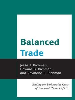cover image of Balanced Trade