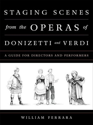 cover image of Staging Scenes from the Operas of Donizetti and Verdi