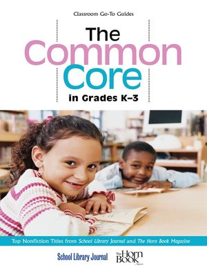 cover image of The Common Core in Grades K-3