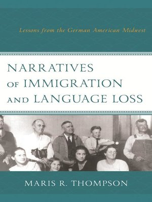 cover image of Narratives of Immigration and Language Loss