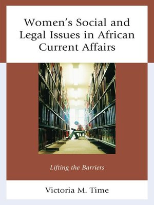 cover image of Women's Social and Legal Issues in African Current Affairs