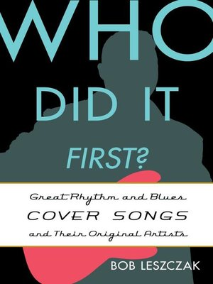 cover image of Who Did It First?