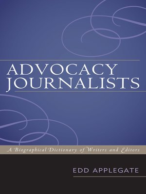 cover image of Advocacy Journalists