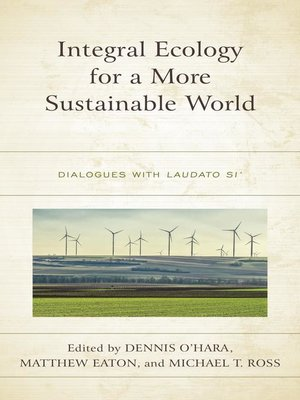cover image of Integral Ecology for a More Sustainable World