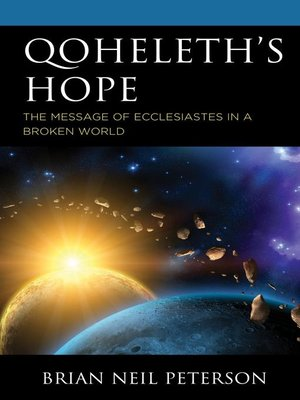 cover image of Qoheleth's Hope