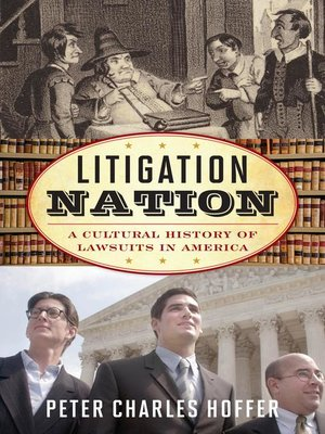 cover image of Litigation Nation