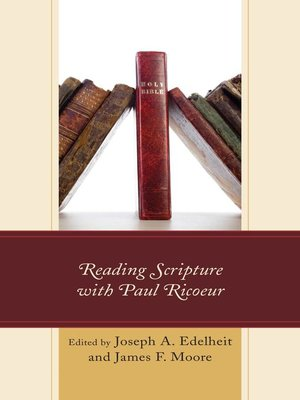 cover image of Reading Scripture with Paul Ricoeur