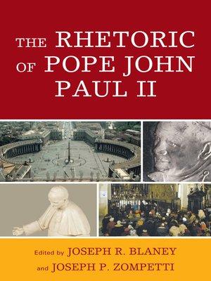 cover image of The Rhetoric of Pope John Paul II